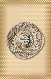 Cottage Smoke  Valdani Colorfast Perle Cotton