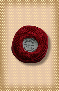 Turkey Red Valdani Colorfast Perle Cotton