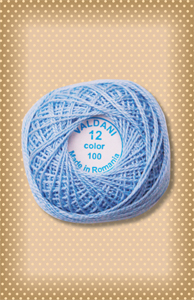 Light Denim Valdani Colorfast Perle Cotton
