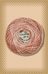 Nantucket Rose Valdani Colorfast Perle Cotton