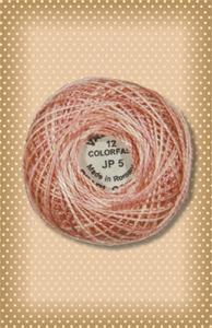 Nantucket Rose Valdani Colorfast Perle Cotton