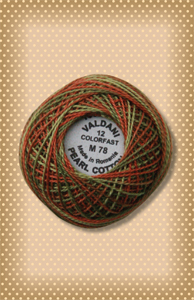Copper Leaf Valdani Colorfast Perle Cotton