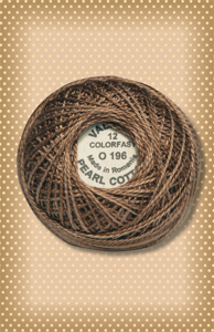 Muddy Bark Valdani Colorfast Perle Cotton