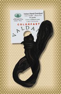 Black Nut  Valdani Colorfast Embroidery Floss