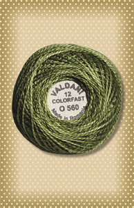 Morning Grass Valdani Colorfast Perle Cotton
