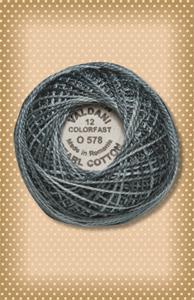 Primitive Blue Valdani Colorfast Perle Cotton