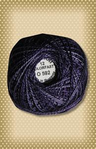 Primitive Purples  Valdani Colorfast Perle Cotton