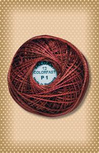 Old Brick Valdani Colorfast Perle Cotton