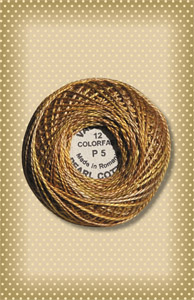 Tarnished Gold Valdani Colorfast Perle Cotton