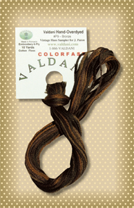 Bronze Valdani Colorfast Embroidery Floss