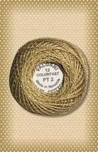 Twisted Tweed Valdani Olive Perle Cotton