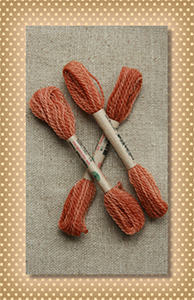 Old Cognac Valdani Wool Floss