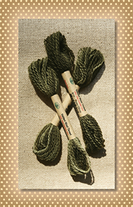 Dusty Olives Valdani Wool Floss