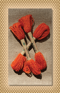 Sweet Orange Valdani Wool Floss