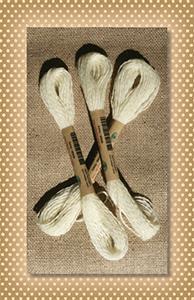 Ivory Valdani Wool Floss