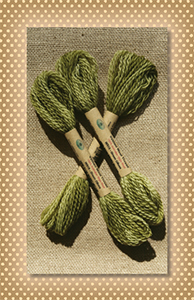 Green Olives Valdani Wool Floss