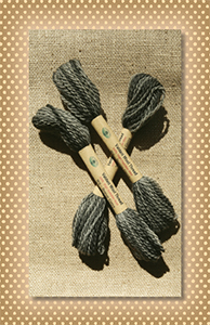 Beaver Grey Valdani Wool Floss