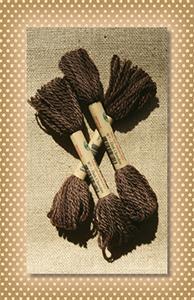 Dark Chocolate Valdani Wool Floss