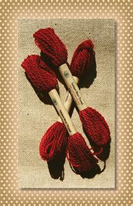 Royal Red Valdani Wool Floss