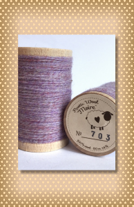 Rustic Wool Moire Thread