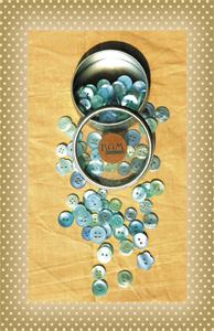 Button Sea Glass Shades