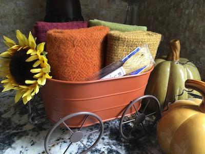 Hare's Woolie Autumn Wagon